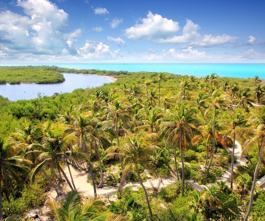 5 reservas naturales de Quintana Roo
