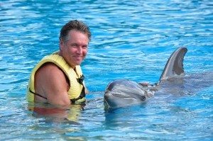 I got the once-in-a-lifetime opportunity to swim with Dolphins in Riviera Maya at Dolphinaris.