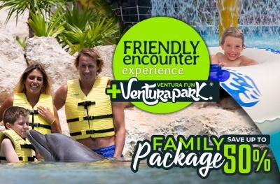 Paquete Familiar Descuento Nado Con Delfines