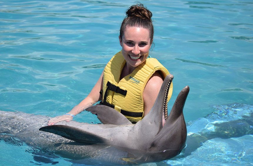 Triple Adventure Dolphin Experience at Riviera Maya Park