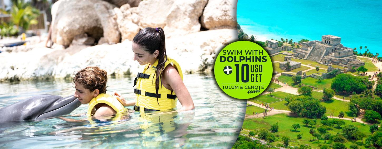 Swim With Dolphins Plus Tulum Tour