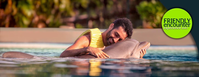 El Friendly Encounter es un mágico encuentro con Delfines en Dolphinaris