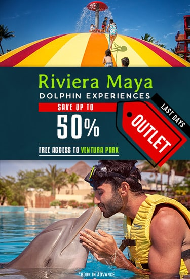 Dolphin Experiences Discounts at Dolphinaris Riviera Maya Outlet
