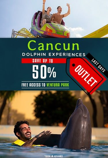 Dolphin Experiences Discounts at Dolphinaris Cancun Outlet