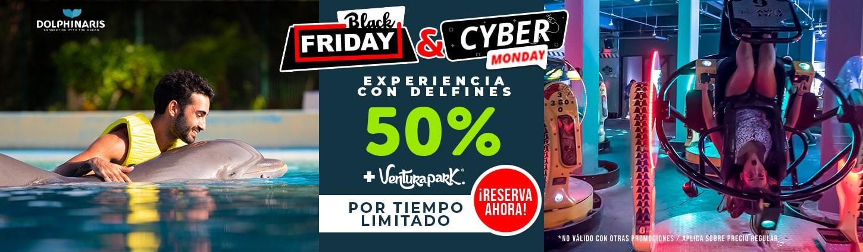 Ahorra hasta 50% en Black Friday + Cyber Monday