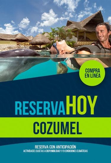 Reserva en Dolphinaris Cozumel