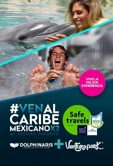 Ven al caribe mexicano