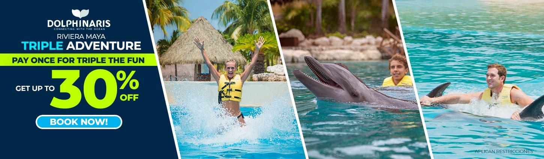 Dolphinaris Triple Adventure