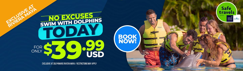 Special price at Dolphinaris Riviera Maya