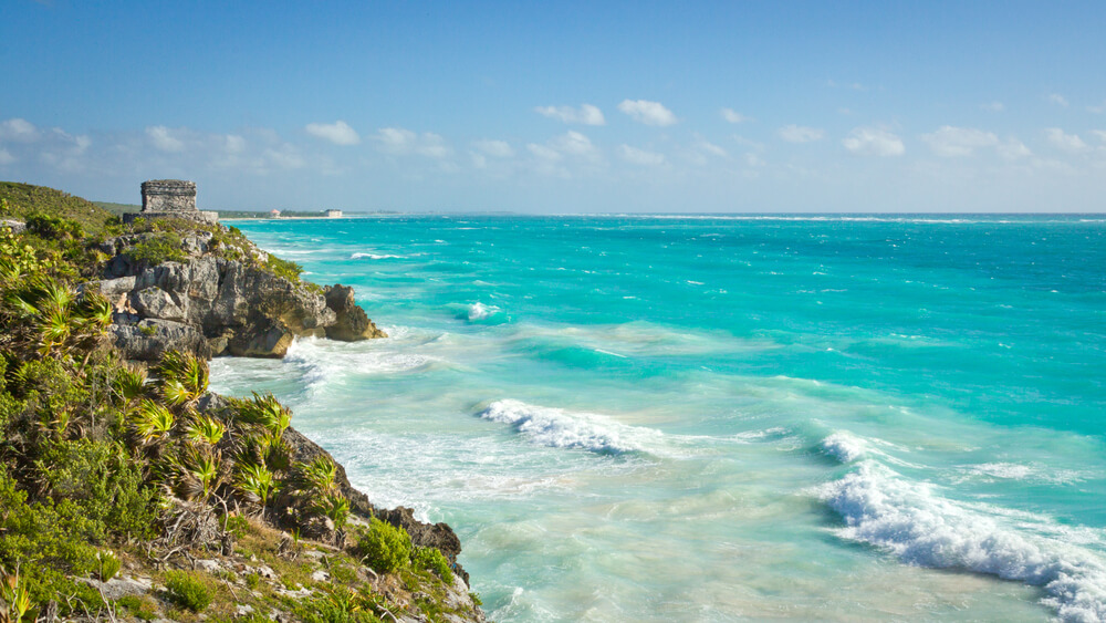 Tulum is a great destination to find a nice beach