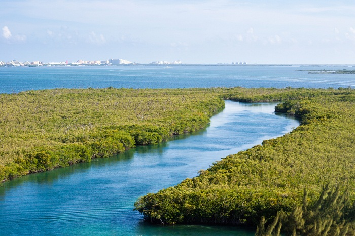 Cancun beautiful landscapes