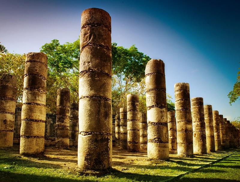 Chichen itza cercano a Cancún y otros destinos mexicanos.