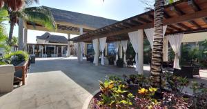 Salón de espera en Dolphinaris Riviera Maya