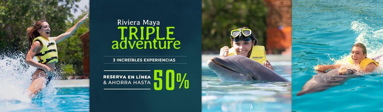 Disfruta de 3 increíbles experiencias y ahorra hasta un 50 % reservando en línea.