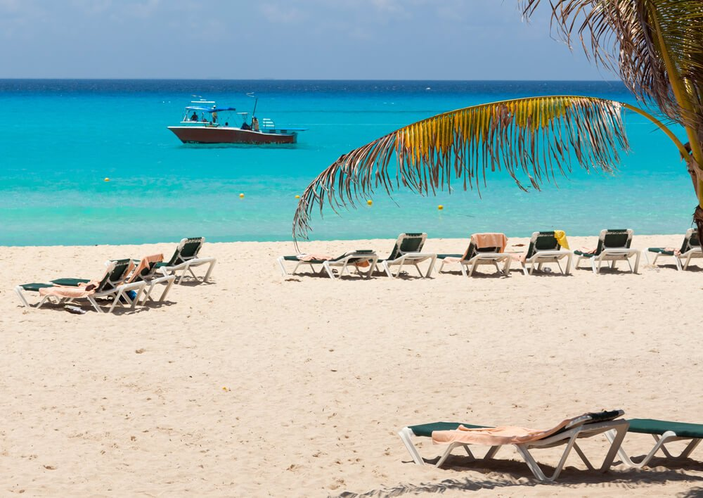 Playa del Carmen, the most relaxing beaches.