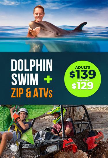 Dolphin Swim + ZIP & ATVs