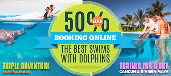Dolphin Trainer & Triple Adventure Swim programs