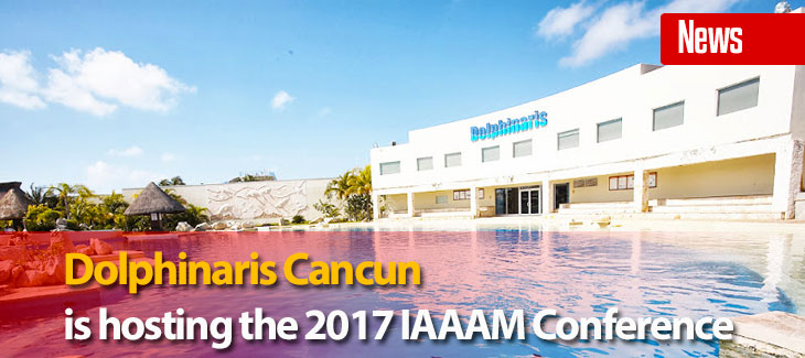 Dolphinaris Cancun is Hosting the 2017 IAAAM Conference!