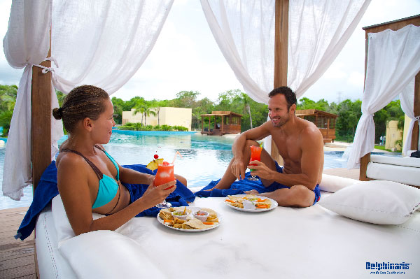 Find the BEST prices on dolphin swims in Cancun [4 Step How-to guide] sundeck