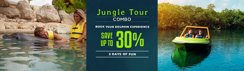 Swim With Dolphins Plus Jungle Tour