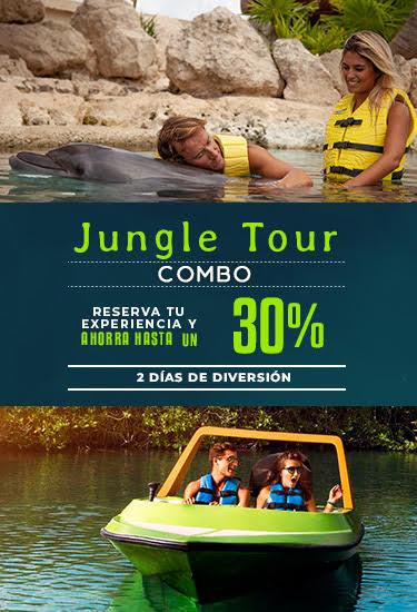 Combo de Experiencia con delfines más Jungle Tour