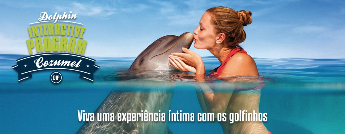 Programa Interativo com golfinho - Dolphinaris Cancun, Tulum y Cozumel.