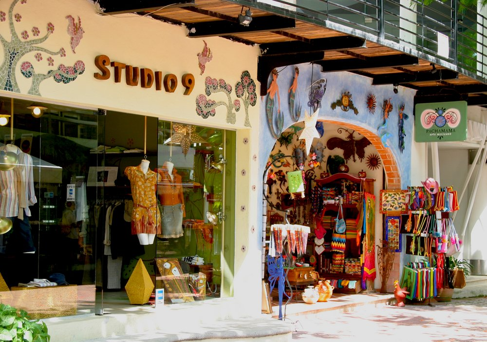 Shopping in the Riviera Maya